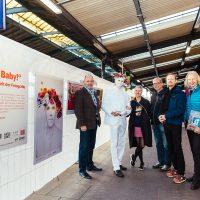 DB Kunstpause im HBF Bonn 18.11.2016 Vernissage BlingBling Baby/NRW-Forum Düsseldorf ©Smilla Dankert